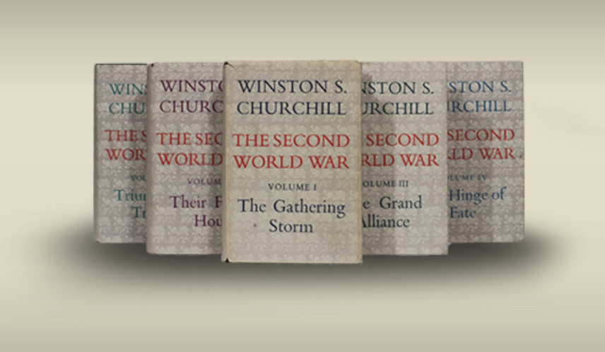 The Second World War by Winston Churchill (1st Edition)