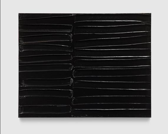 Peinture 102 × 130 cm, 11 Juin 2007' by Pierre Soulages
