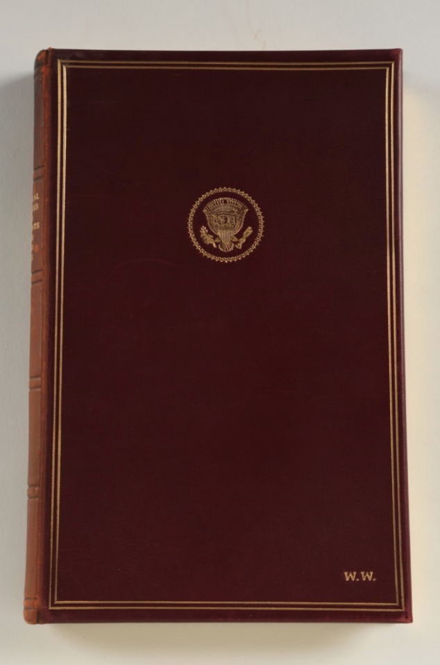 JFK Inaugural Address (Inscribed by Jackie Kennedy)