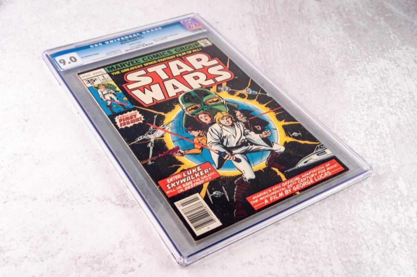 Marvel Star Wars #1 (CGC 9.0)