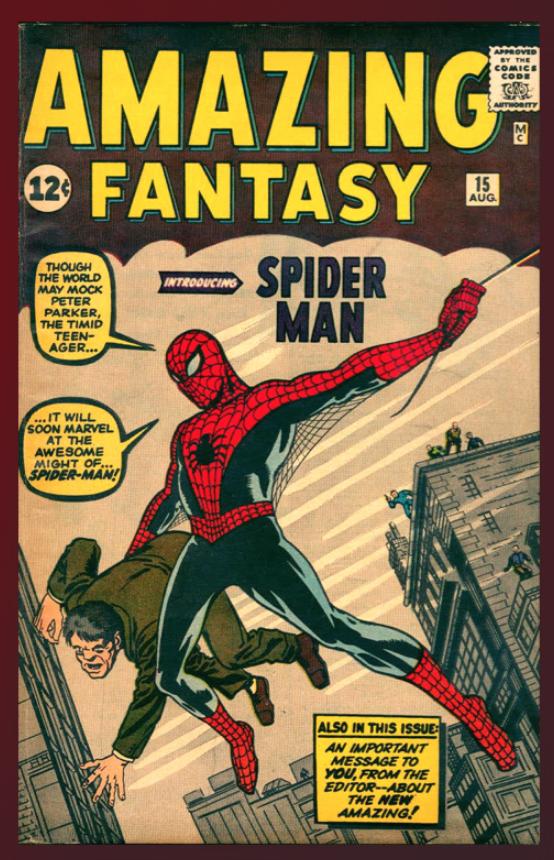 Amazing Fantasy #15 (CGC 7.0)