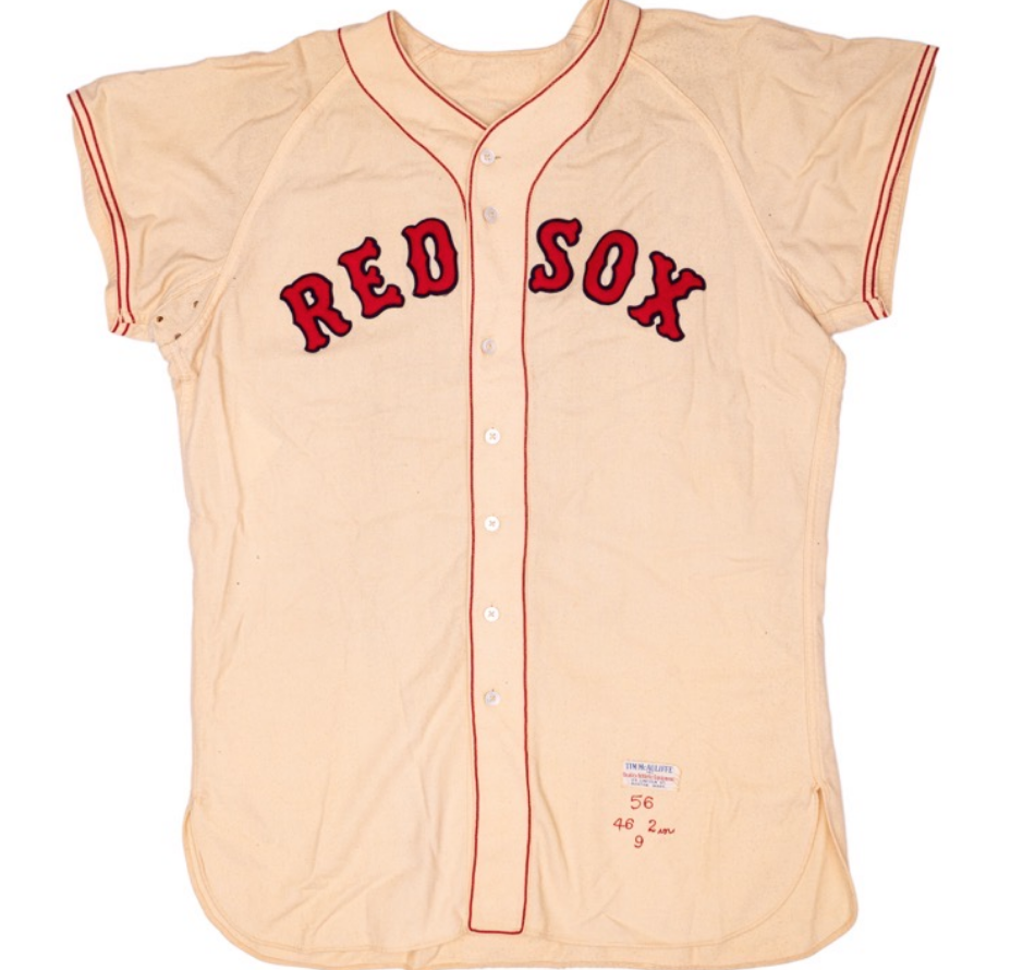 Ted Williams Game-Worn Jersey