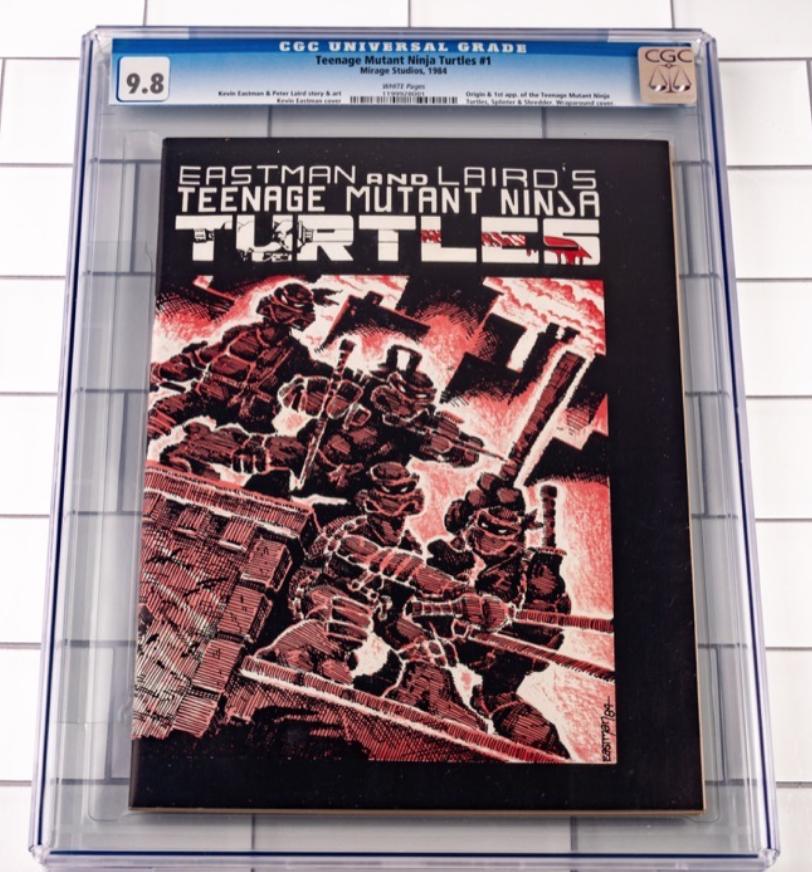 Teenage Mutant Ninja Turtles #1 (CGC 9.8)