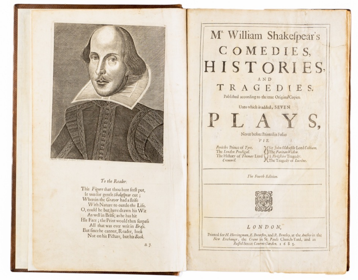 Shakespeare: Comedies, Histories, & Tragedies