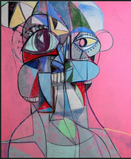 Staring into Space by George Condo
