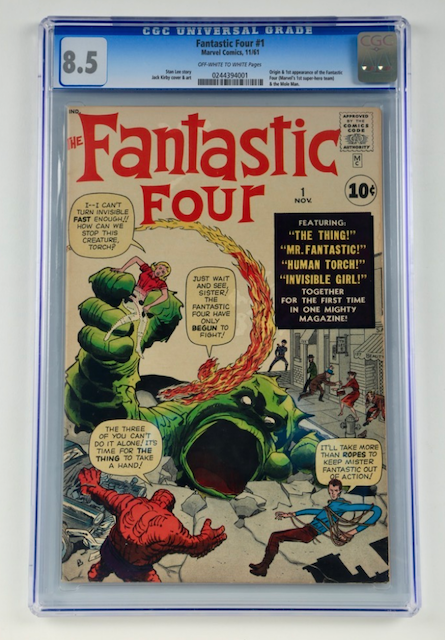 Marvel Fantastic Four #1 (CGC 8.5)