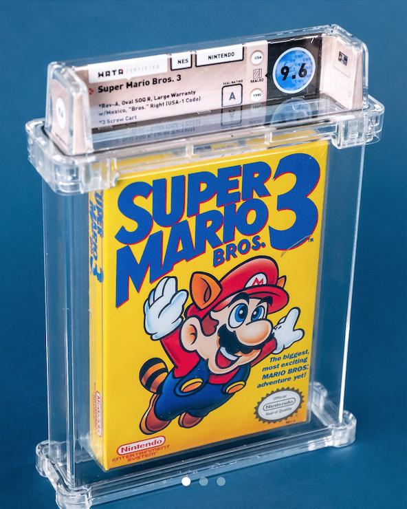 NES Super Mario Bros. 3 (WATA 9.6, Seal A)