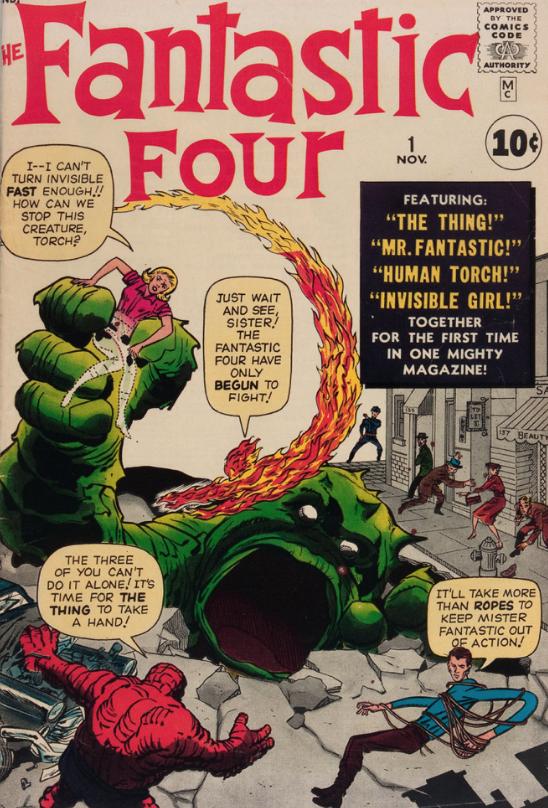 Marvel Fantastic Four #1 (CGC 6.0)