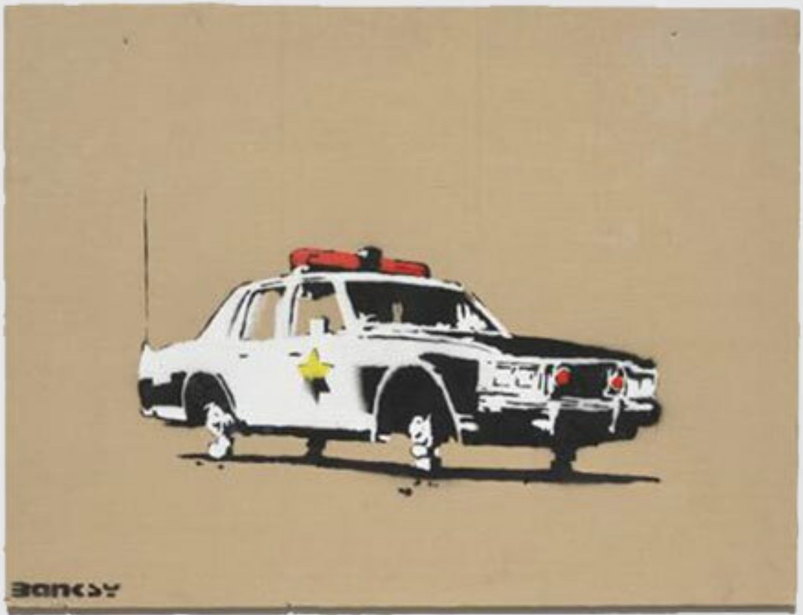Police Car by Banksy