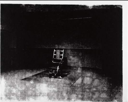 Little Electric Chair by Andy Warhol