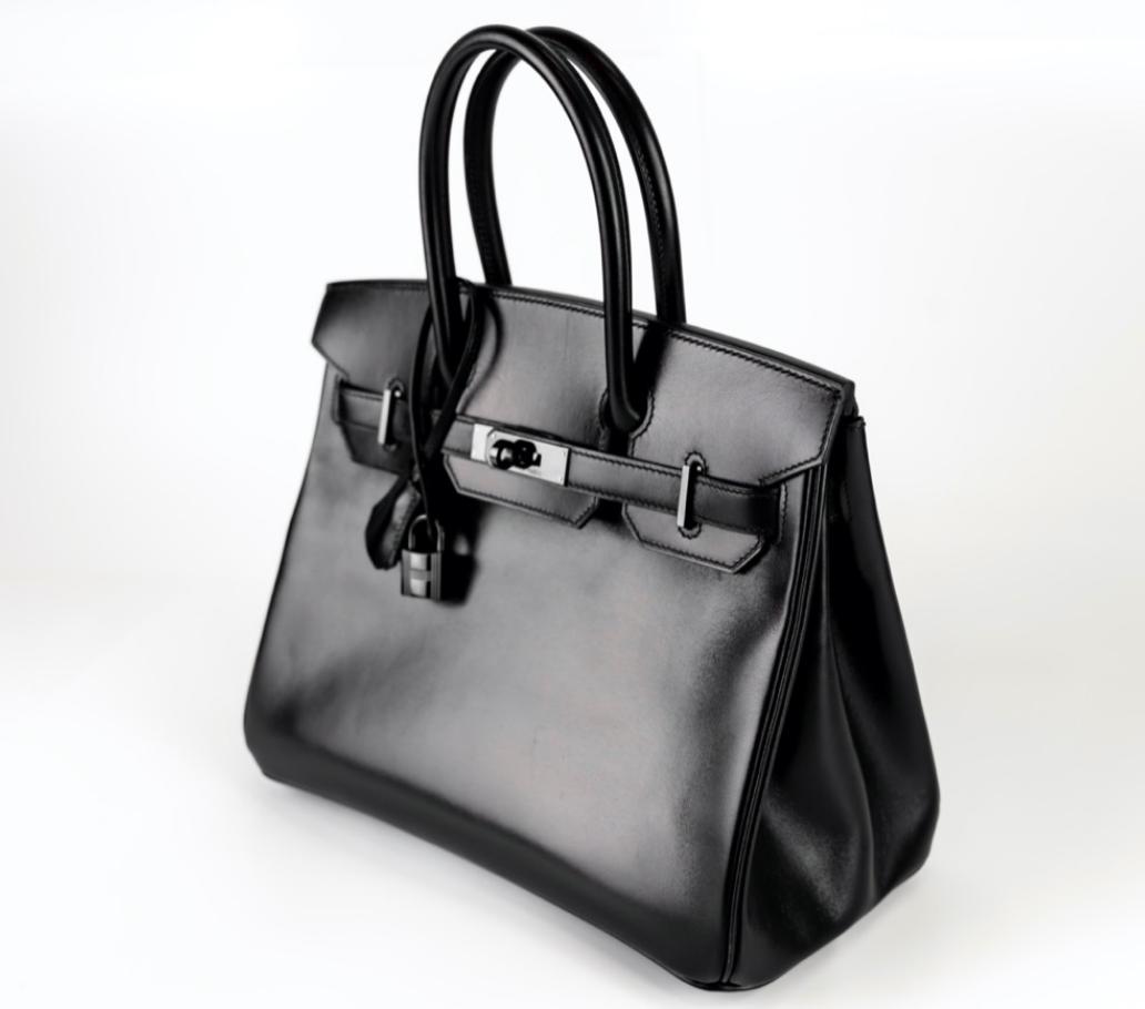 """Hermès 30CM """"So Black"""" Birkin"""