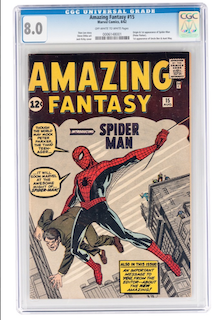Amazing Fantasy #15 (CGC 8.0)
