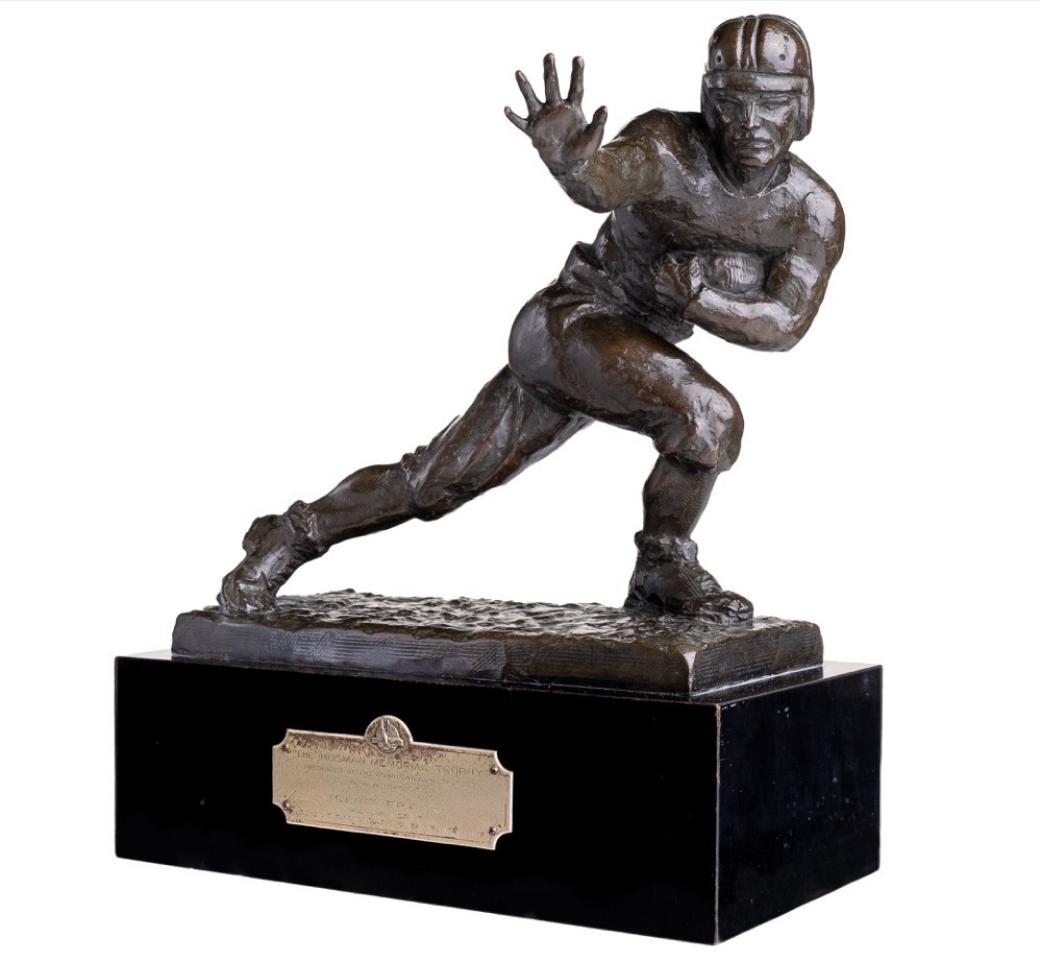 1937 Heisman Trophy (Clint Frank)