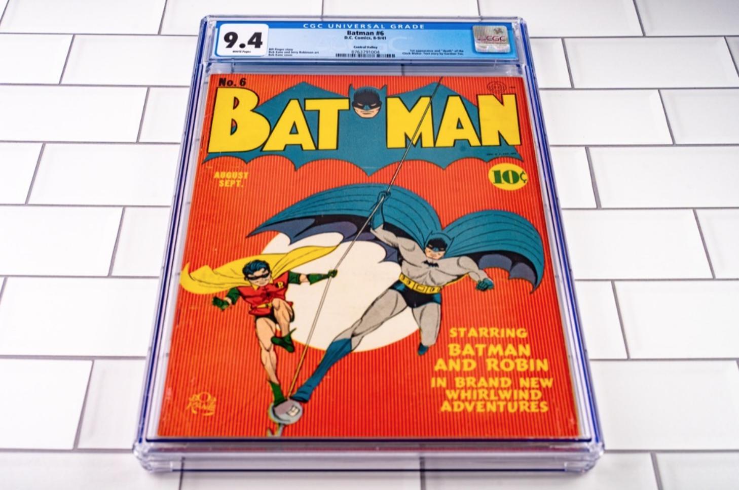 DC Comics Batman #6 (CGC 9.4)