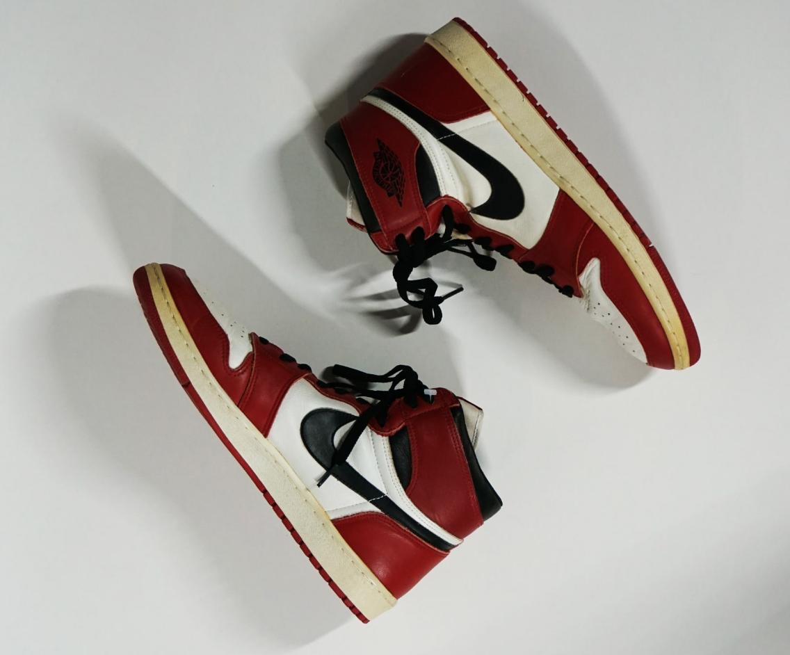 Michael Jordan Rookie Game-Worn Air Jordan 1's