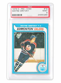 O-Pee-Chee Wayne Gretzky Rookie Card (PSA 9)