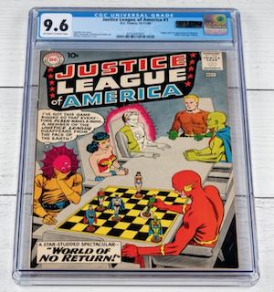 Justice League of America #1 (CGC 9.6)