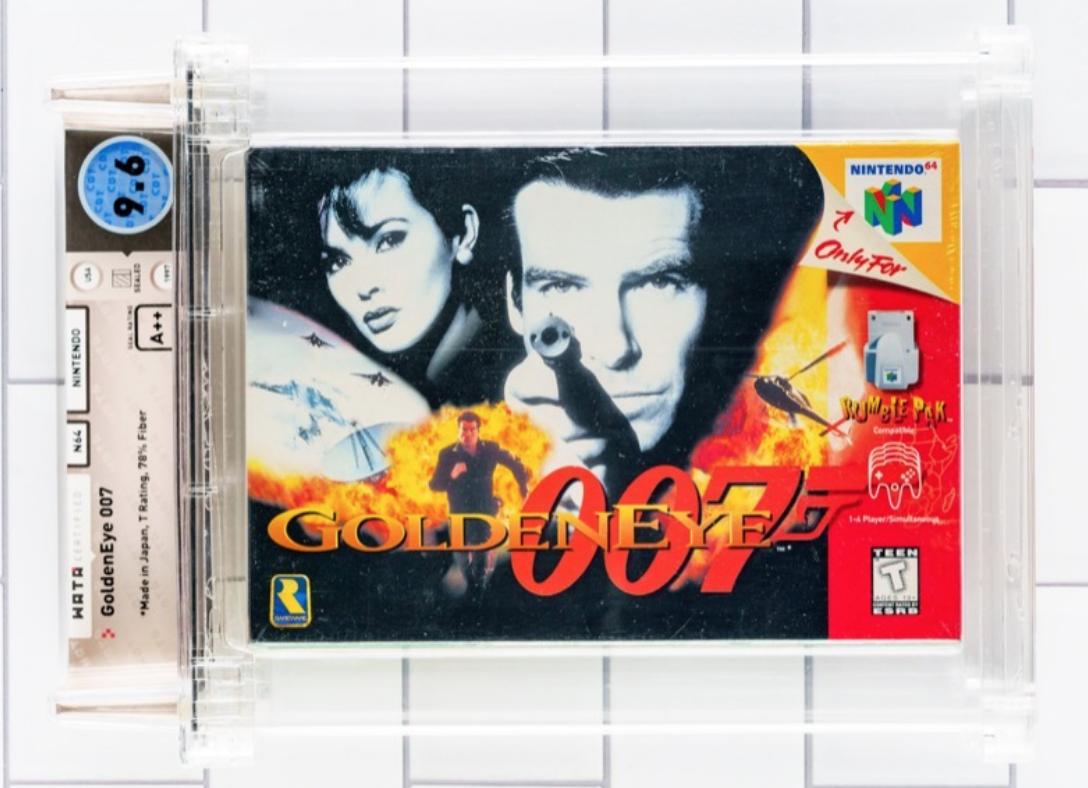 N64 GoldenEye (WATA 9.6, Seal A++)