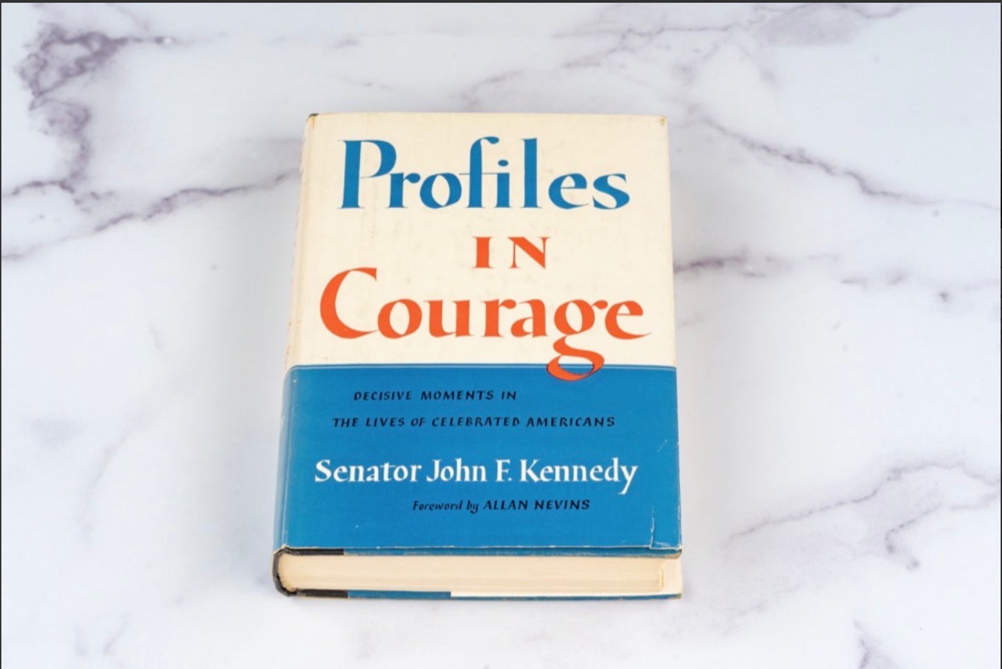 Profiles in Courage by John F. Kennedy (Inscribed to Frank Sinatra)