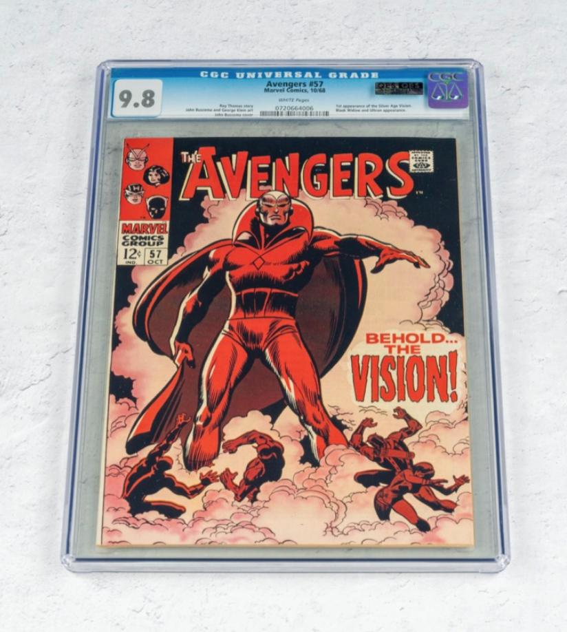Marvel Avengers #57 (CGC 9.8)