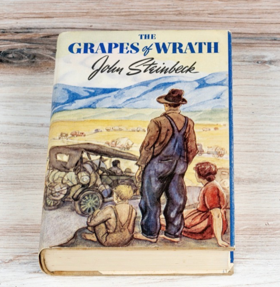 The Grapes of Wrath by John Steinbeck (1st Ed., Inscribed)