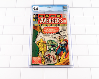 Avengers #1 (CGC 9.6)