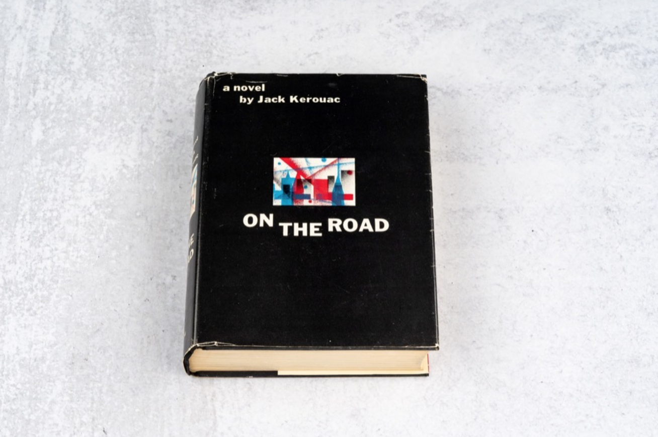 On The Road by Jack Kerouac (Inscribed, 1st Ed.)