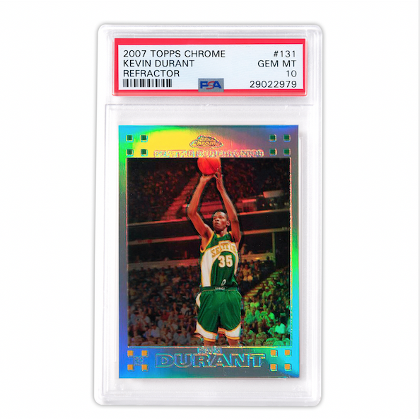 Topps Chrome Kevin Durant Refractor Rookie Card (PSA 10)