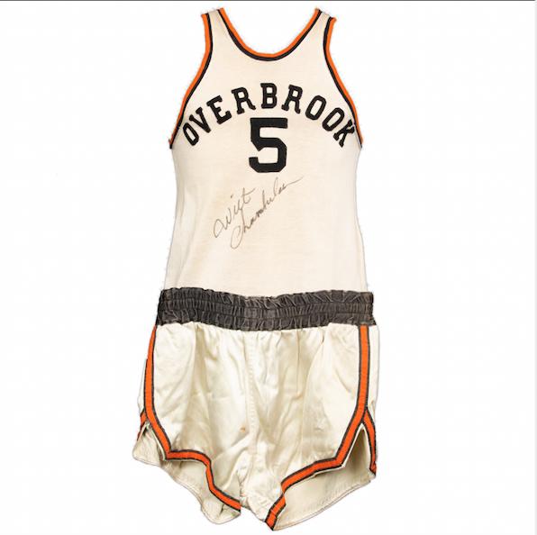 Wilt Chamberlain Game-Worn HS Uniform (Signed)