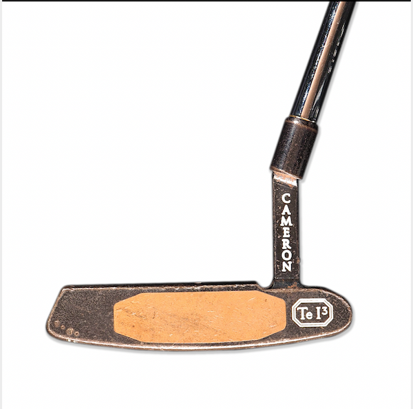 Tiger Woods Late 1990's Tournament Used Putter