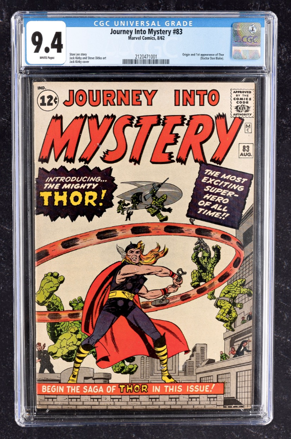 Marvel Journey Into Mystery #83 (CGC 9.4)