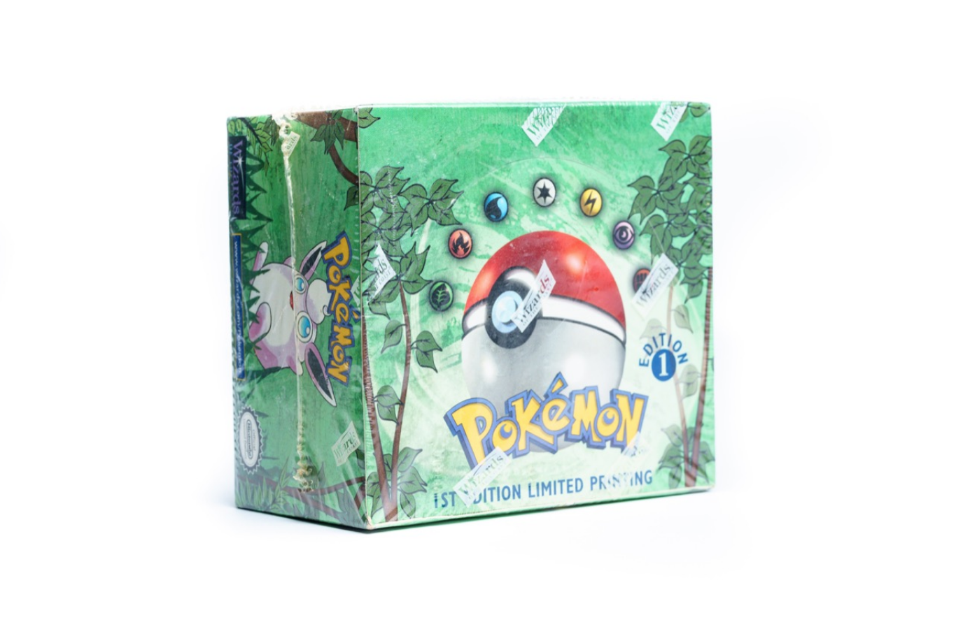 1999 Pokémon Jungle 1st Edition Booster Box