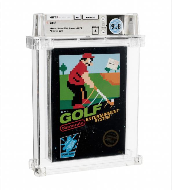 Golf NES (WATA 9.8, Seal A)