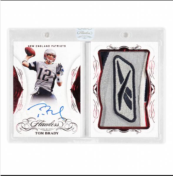 Tom Brady Panini Flawless Veteran Cards (2)