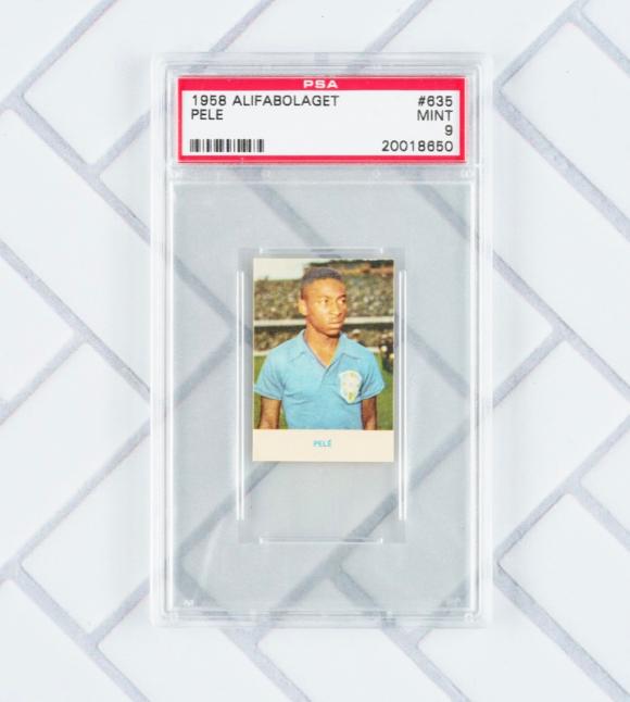 Alifabolaget Pelé Rookie Card (PSA 9)