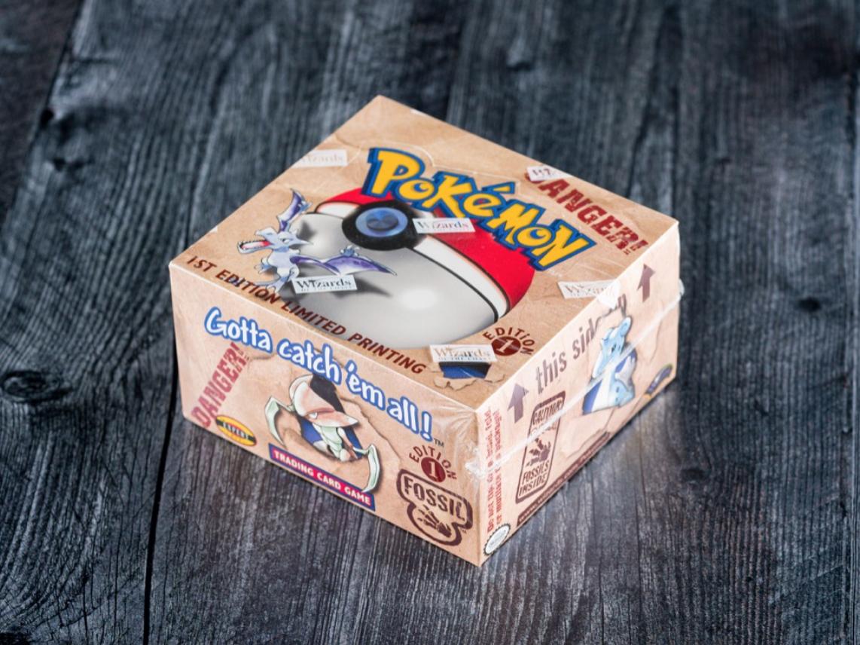 Pokémon Fossil 1st Edition Booster Box