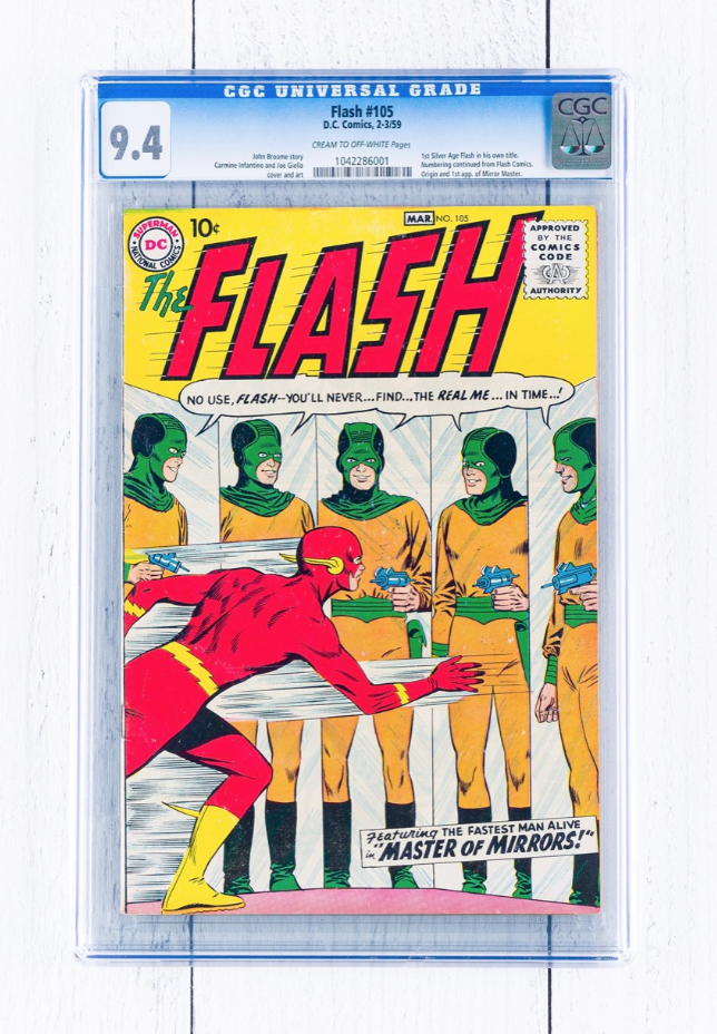 DC Comics The Flash #105 (CGC 9.4)