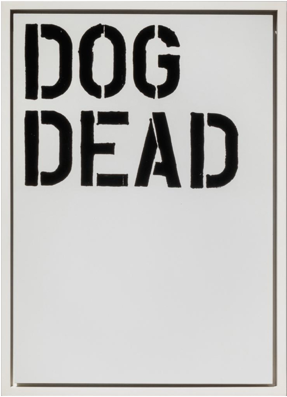 Untitled (S77) by Christopher Wool