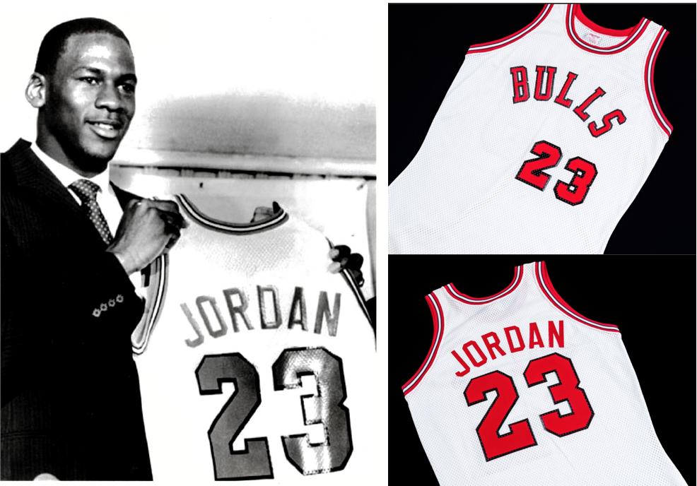 1984 Michael Jordan Signing Day Jersey