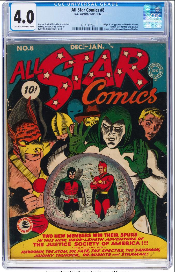 DC Comics All Star Comics #8 (CGC 4.0)