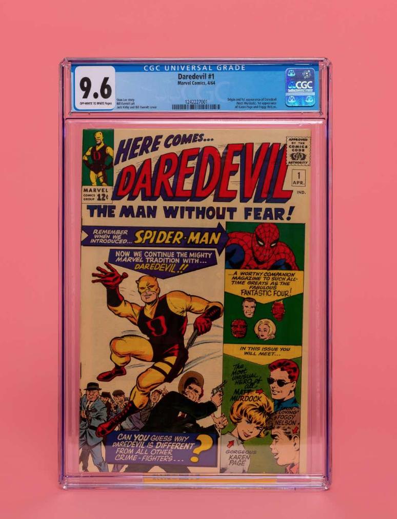 Marvel Daredevil #1 (CGC 9.6)