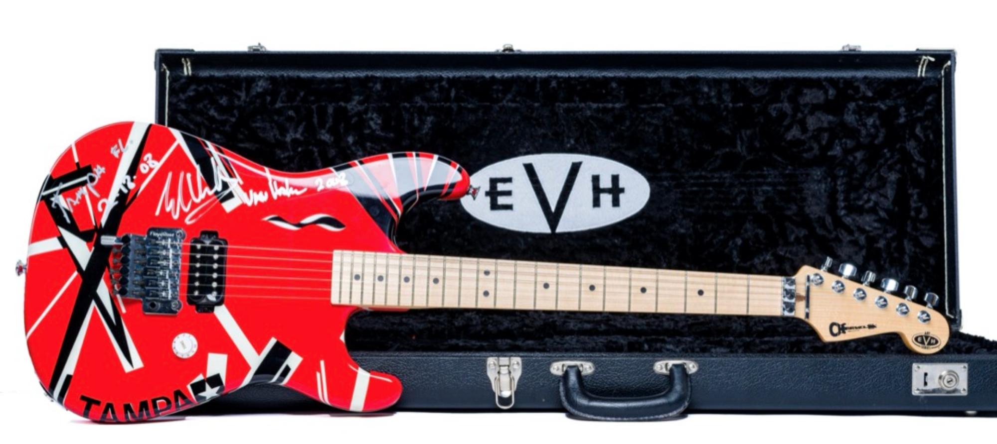 Eddie Van Halen Concert-Played Guitar (Signed)