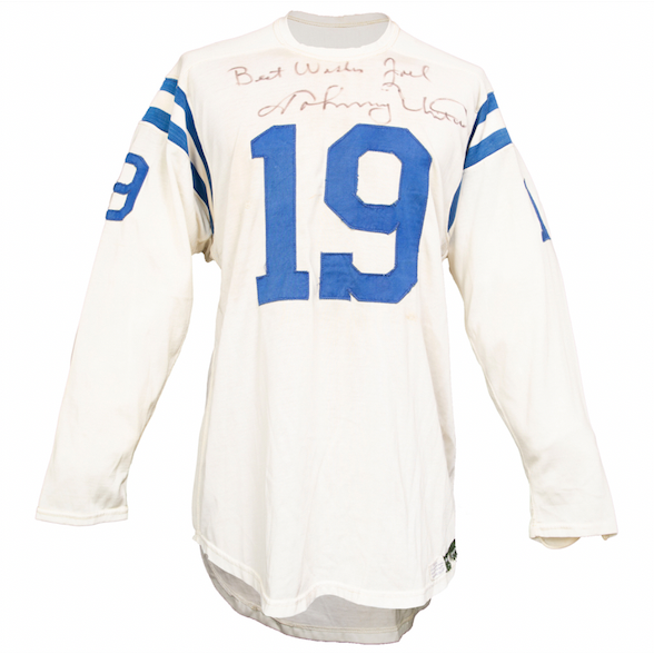 1965 Johnny Unitas Game-Worn Baltimore Colts Jersey (Signed)