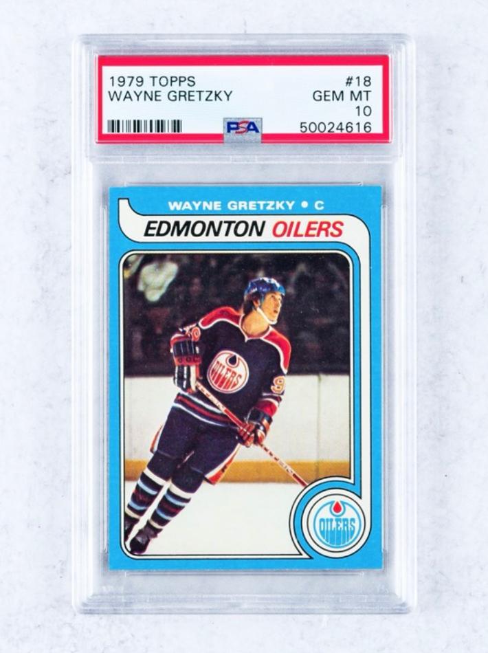1979 Topps Wayne Gretzky Rookie Card (PSA 10)