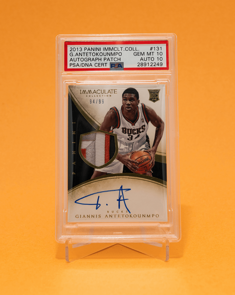 2013 Immaculate Collection Giannis Antetokounmpo RPA (PSA 10)