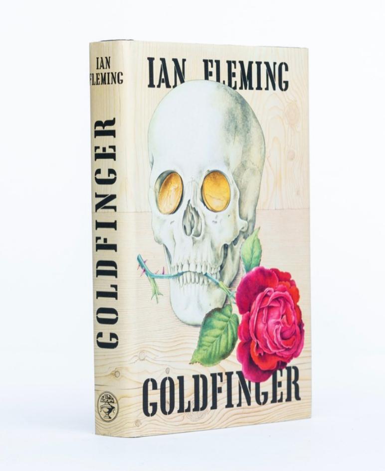 Goldfinger by Ian Fleming (Dedication Copy)