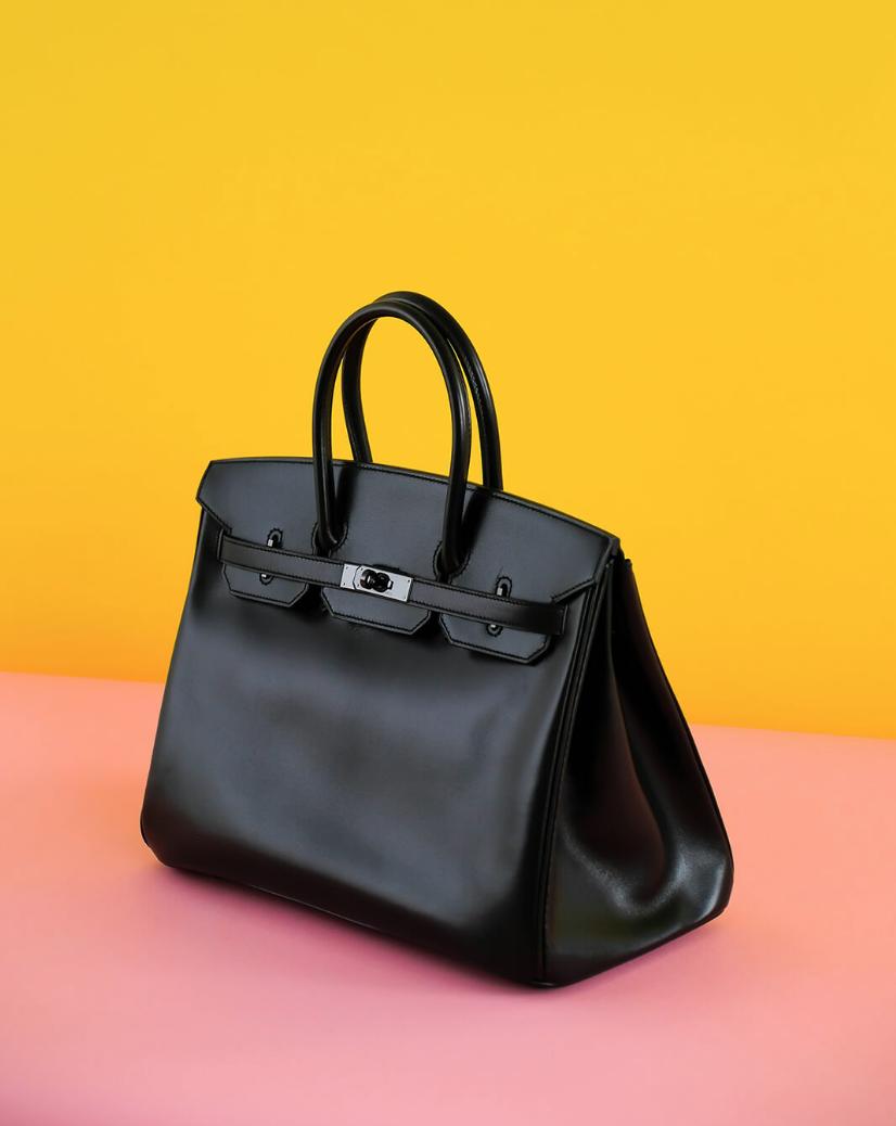 """Hermès Birkin 35CM """"So Black"""""""
