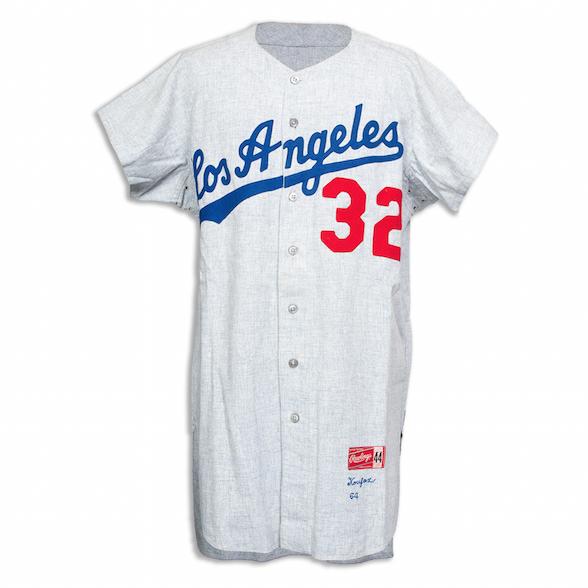 1964 Los Angeles Dodgers Sandy Koufax Jersey