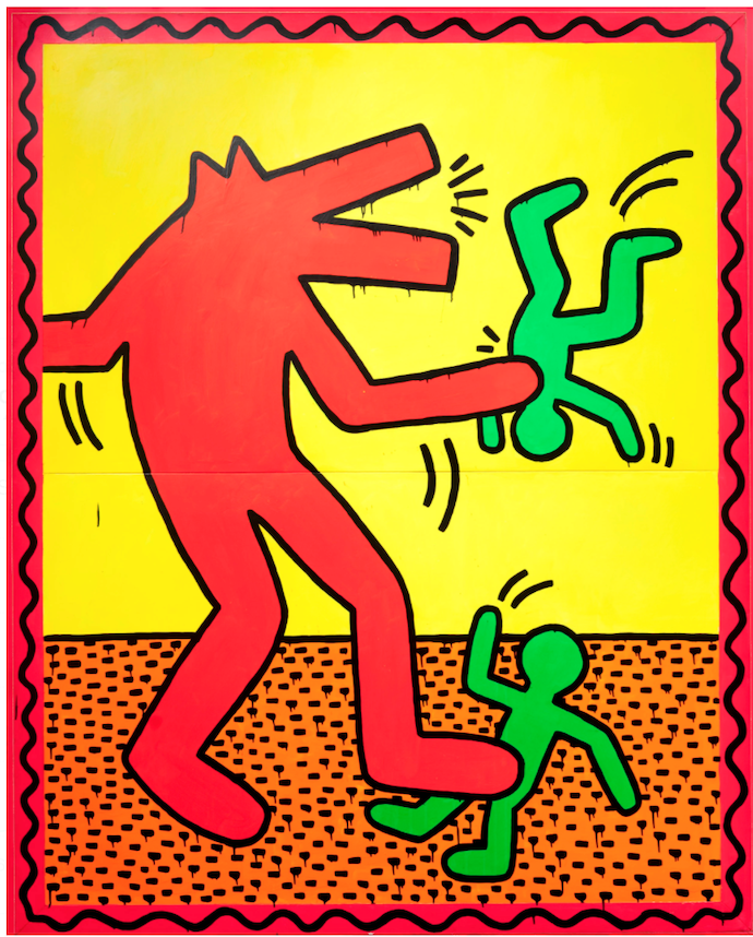Untitled (1982) by Keith Haring