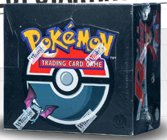 2000 Pokémon Team Rocket 1st Edition Booster Box